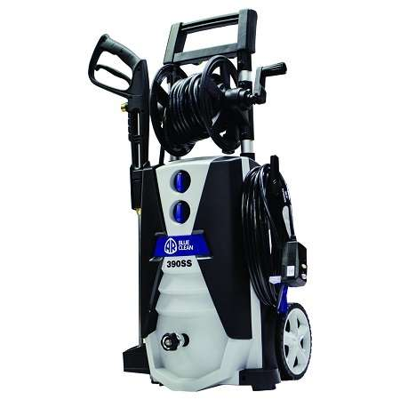 AR Blue Clean AR390SS Electric Pressure Washer On White Background
