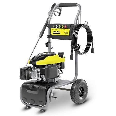 Karcher G 2700 Gas Power Pressure Washer On White Background