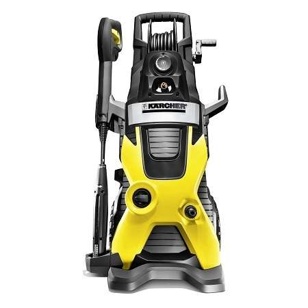 Karcher K5 Premium Electric Pressure Power Washer On White Background