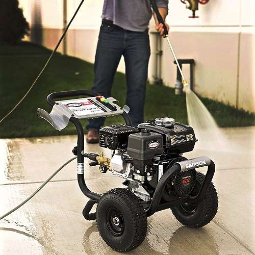 Easily Portable Gas Pressure Washer