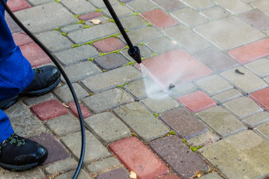 power washer uses